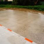 Concrete grinding, Horsham, Alfresco slab