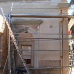 Stawell, Shire Hall, Render restoration