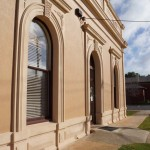 Stawell Shire Hall, Render restoration